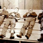 Bodies of the Dalton Gang
