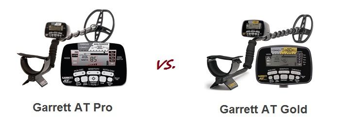 compare Garrett detectors