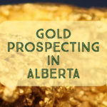Gold Prospecting Alberta Rivers