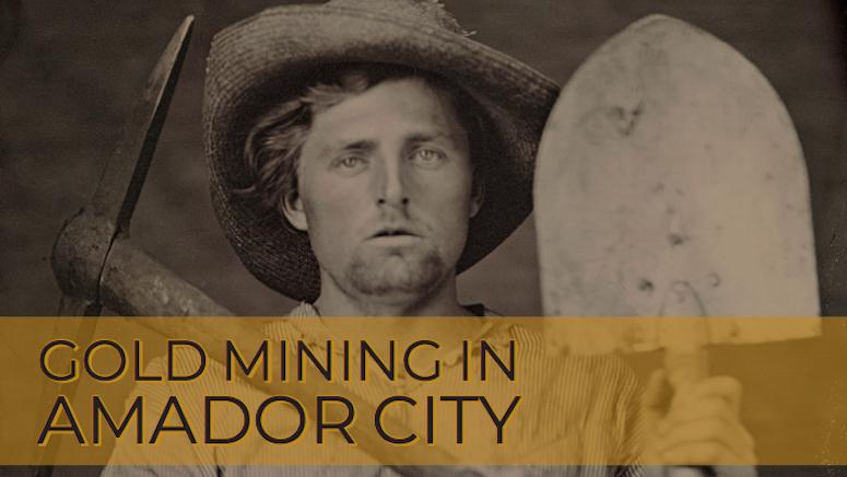 California Gold Rush Miner
