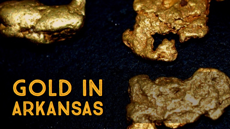 Arkansas Mining Panning Gold