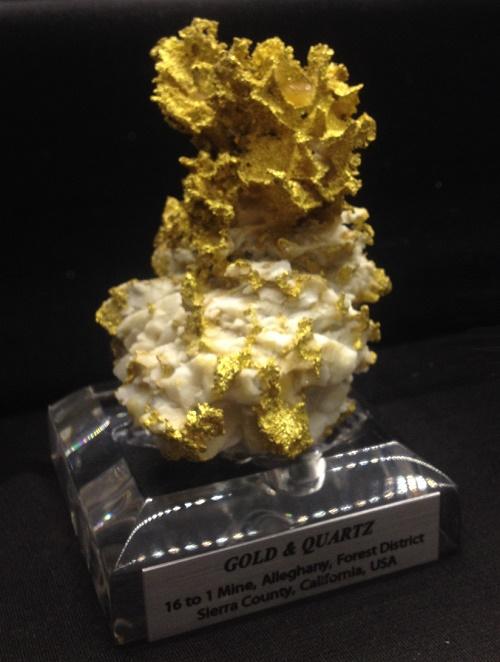 Big Gold Quartz Specimen