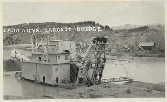 Idaho Dredge