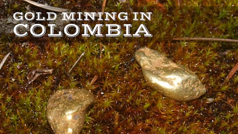 gold from Colombia
