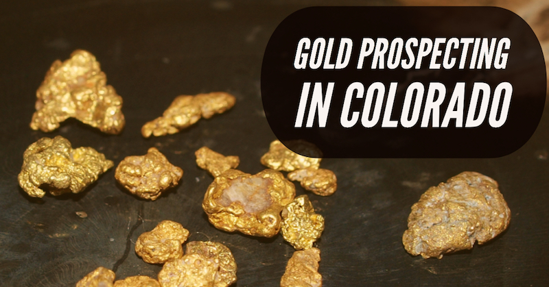 Finding Gold in Colorado Rivers