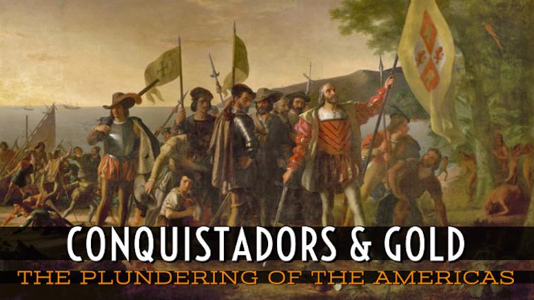 Spanish Conquistadors South America