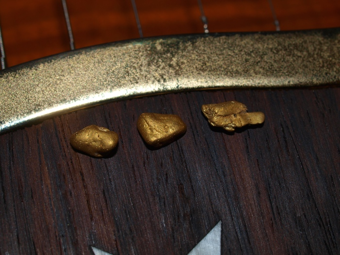 Gold Found Real Nuggets