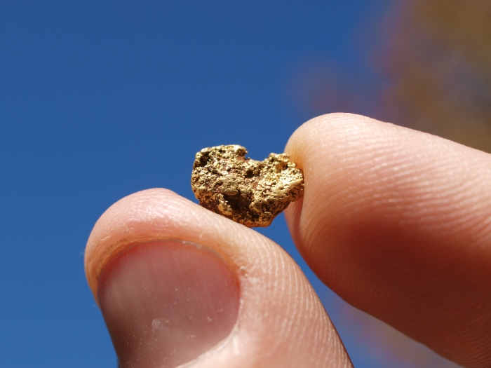 Small Gold Nugget