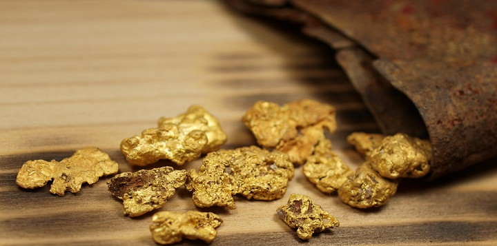 Gold from the Mojave Desert