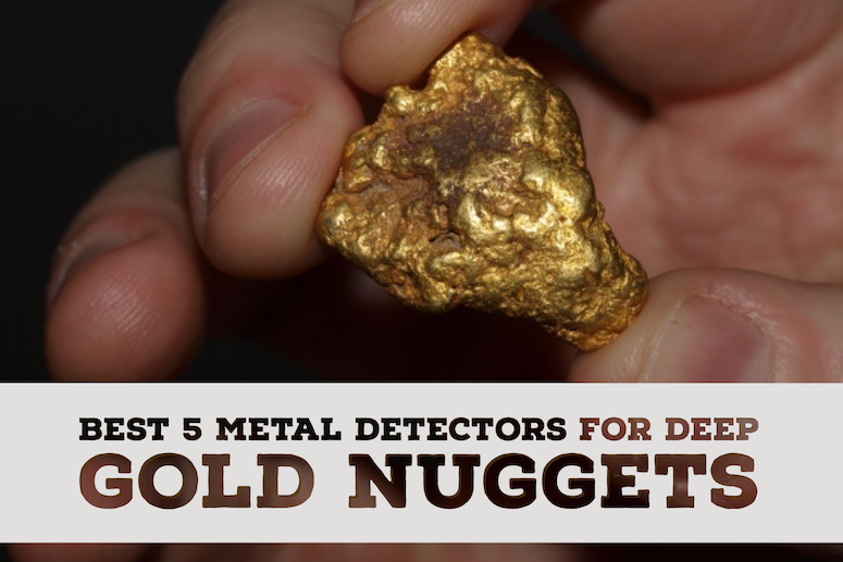 Which metal detector finds gold the deepest?