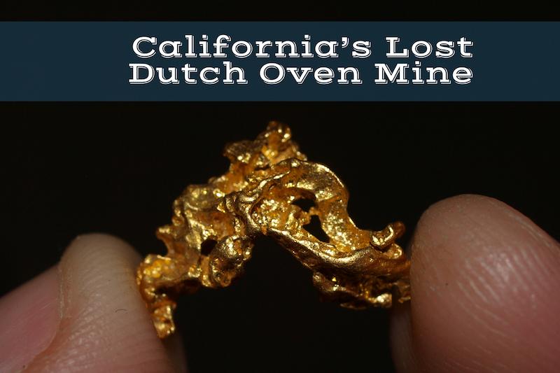 Lost Dutch Oven Mine