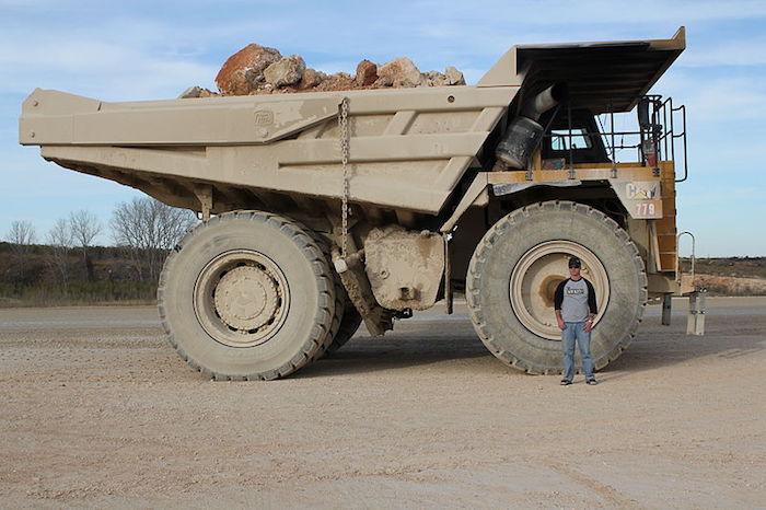 Cortez Gold Mining Truck Nevada