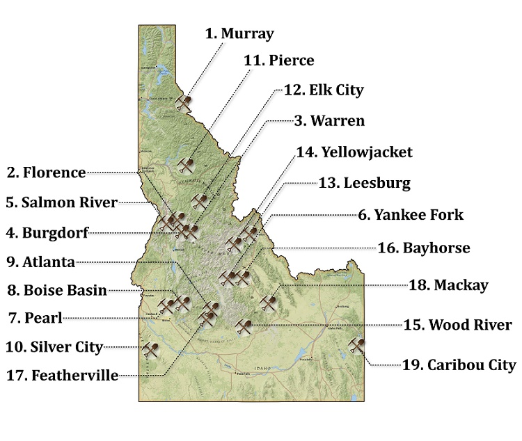 19 of the Richest Gold Mining Towns in Idaho (Map ... Salmon River Idaho Map on sawtooth national recreation area, clearwater river, bruneau river idaho map, wallace idaho map, coeur d'alene, kootenay river, selway river map, clearwater river idaho map, idaho county map, salt river, detailed idaho road map, the river wild, salmon id, sawtooth range, middle fork salmon river, idaho lakes map, clark fork, lewiston idaho map, pend oreille river, deep creek idaho map, rivers in idaho on map, idaho back road map, boise idaho map, hells canyon idaho map, lake pend oreille, coeur d'alene idaho map, snake river, borah peak, spokane river, clark fork river idaho map, idaho falls, salmon idaho map google, devils creek idaho map, idaho highway map, columbia river map, hells canyon,