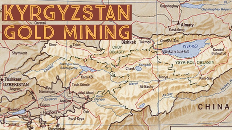 Find Gold in Kyrgyzstan