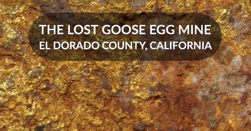 El Dorado California Mining