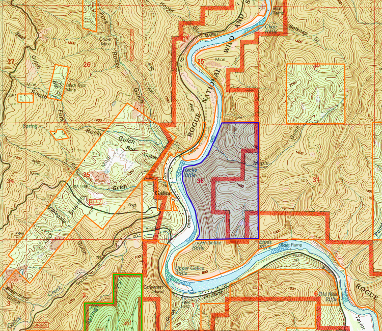 Galice Oregon Rogue River