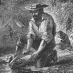 find gold on the Mokelumne River