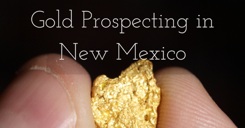 Prospecting New Mexico Gold