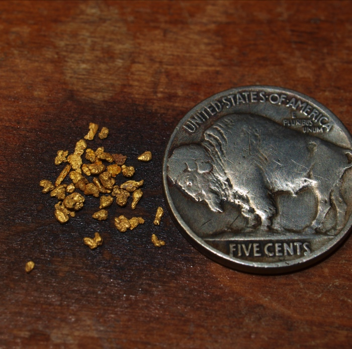Small Placer Gold