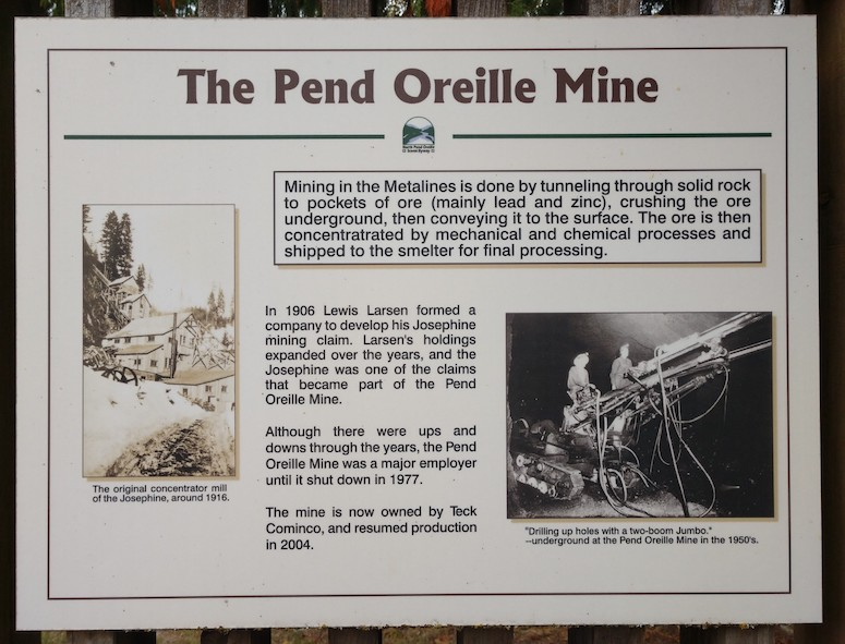 Early Mining Pend Oreille Mine