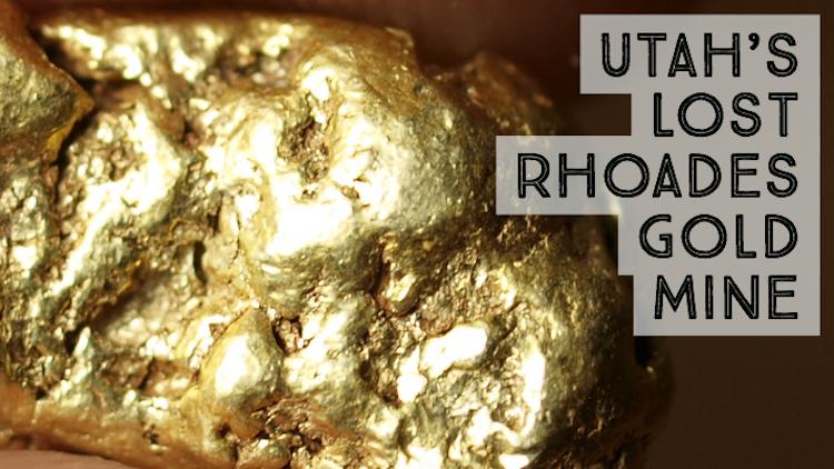Lost Rhoades Mine Utah