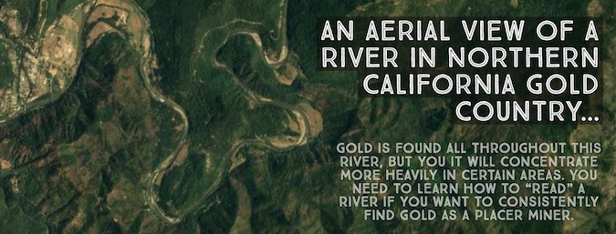 Reading a River for Gold Panning