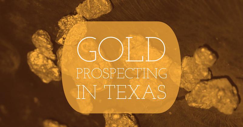 Gold Prospecting Texas