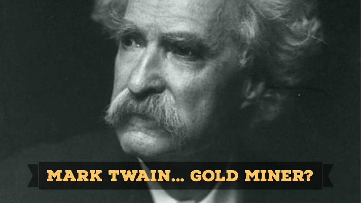 Mark Twain Gold Miner
