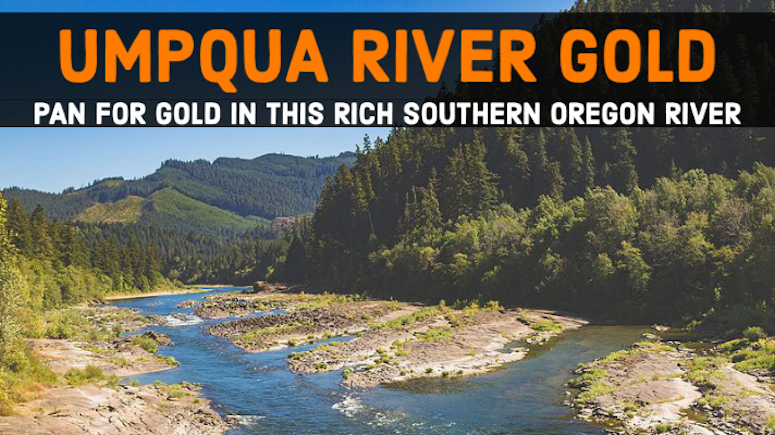 Gold Panning Roseburg Canyonville Myrtle Creek