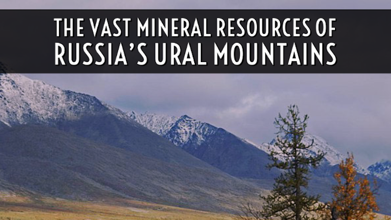 Ural Mountains Russian gold gems mines