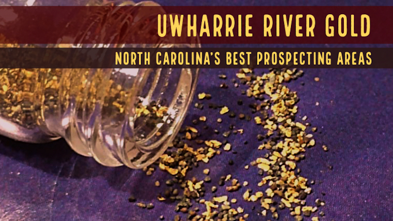 Gold Panning Uwharrie River
