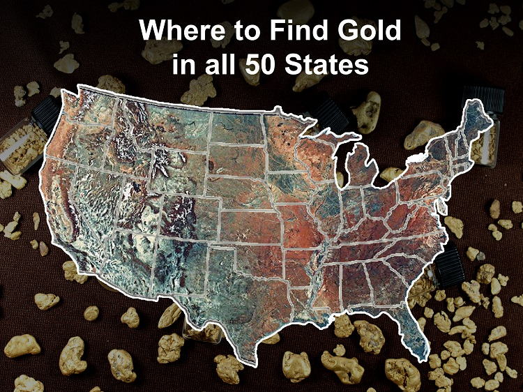 Gold Prospecting in The USA – Where to Find Gold in all 50 States ...