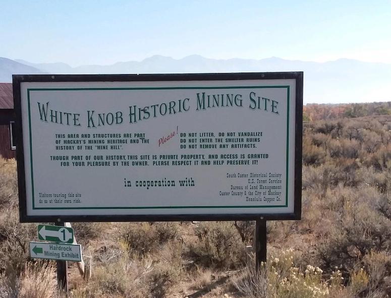 Idaho Mackay Mining Area