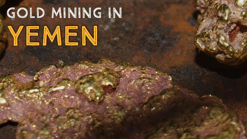 Yemen Gold Mines