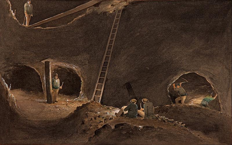 10 Ways to Die in an Underground Gold Mine - RareGoldNuggets com