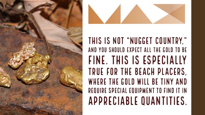 California beach gold