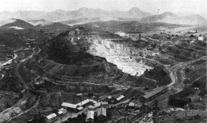 Bisbee Open Pit Copper Mine