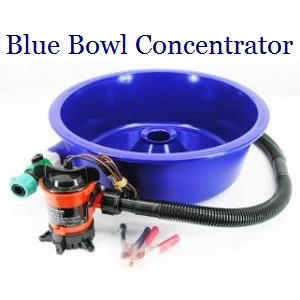 Blue Bowl Fine Gold Recovery