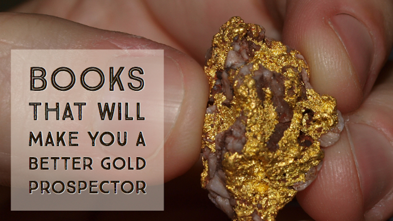 gold detecting books