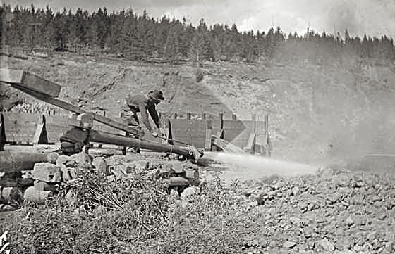 hydraulic mining colorado