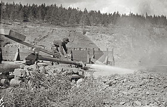 hydraulic mining colorado
