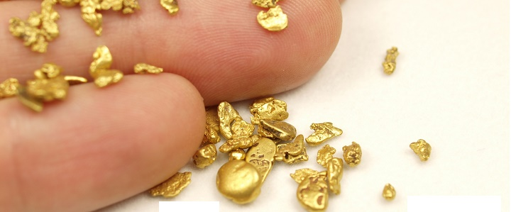 Gold Nuggets with Small Search coils