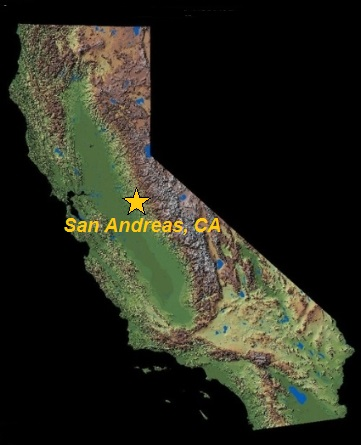 Where is San Andreas, CA