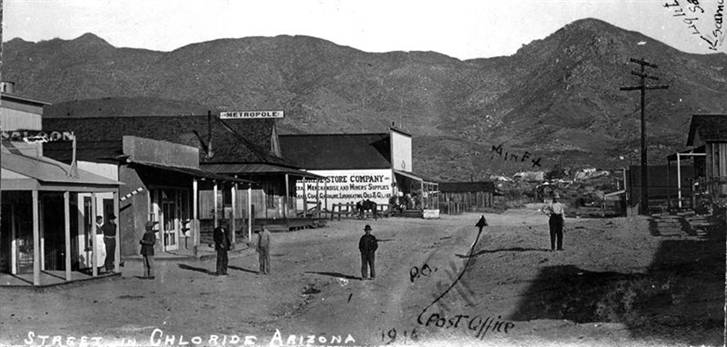 Chloride Main Street Arizona