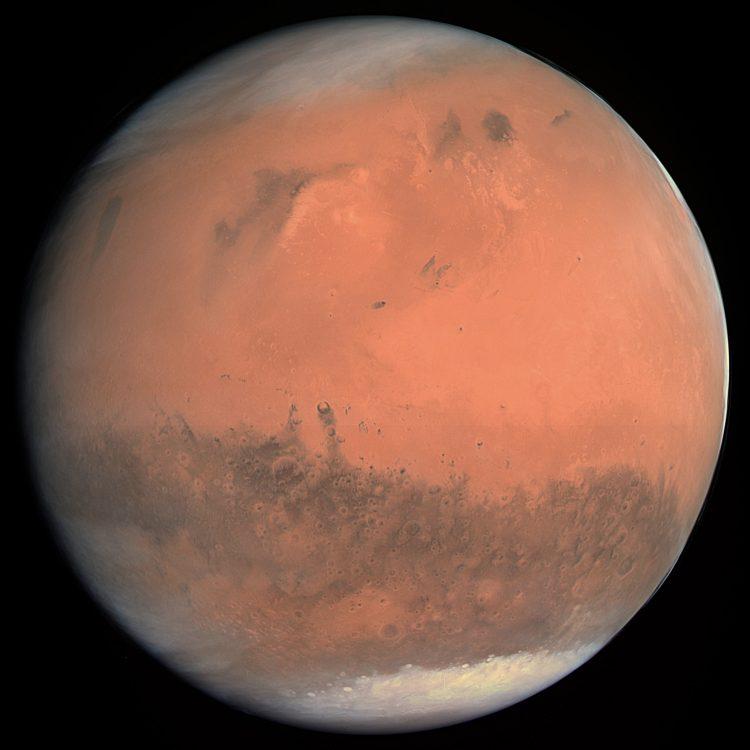Gold on Mars