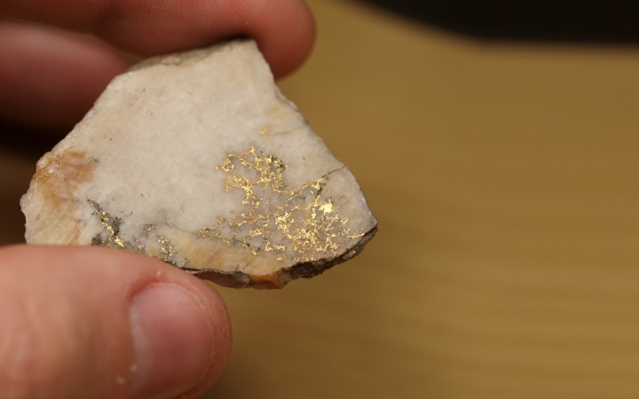 Quartz Gold Slab