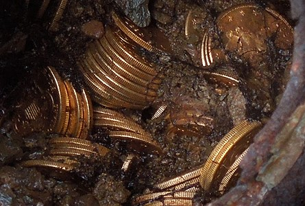 Buried Treasure Gold Coins California