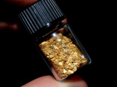 fine gold dust