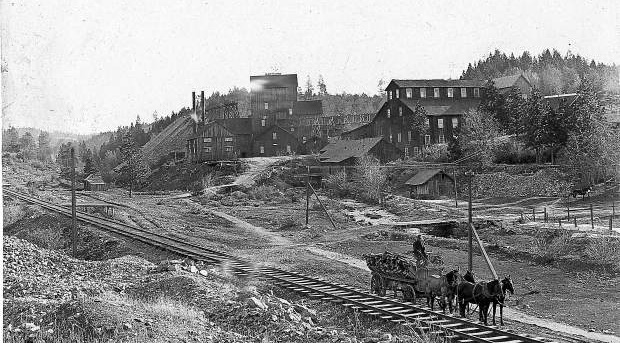 The Idaho-Maryland Mine was one of the largest in Grass Valley, with millions of dollars in gold discovered.