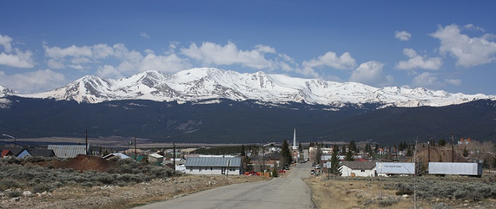 Leadville Colorado, Rocky Mountains